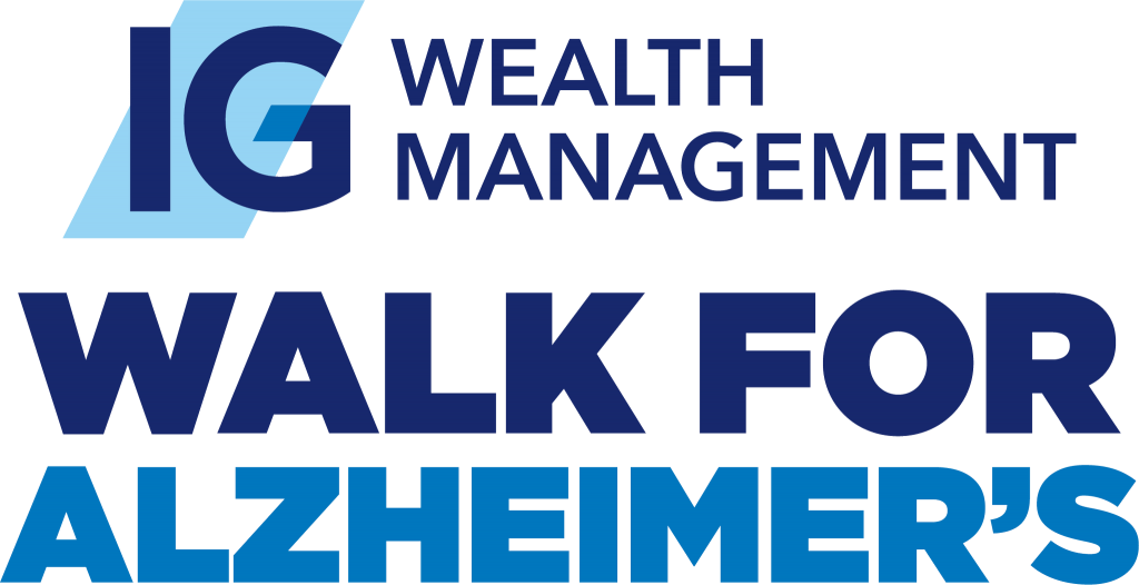 IG Wealth Management Walk for Alzheimer's logo