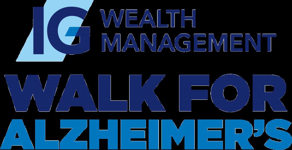 IG Wealth Management Walk for Alzheimer's logo