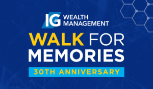 IG Wealth Management Walk for Memories 30th Anniversary